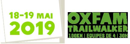 Défi solidaire Oxfam Trailwalker 2019 : Notre consultante Pascale Claude au départ