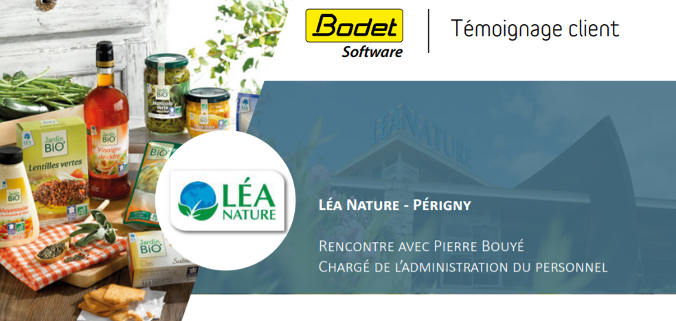 Témoignage client Bodet Software : Léa Nature