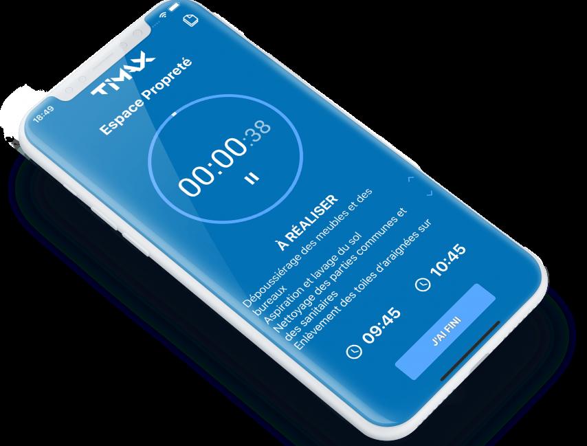 Timax, l'appli gain de temps et financier pour le suivi d'activité des collaborateurs