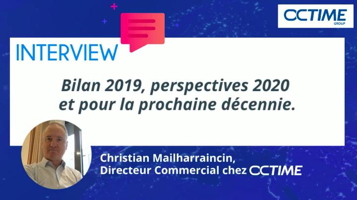 Interview de Christian Mailharraincin, directeur commercial chez Octime.