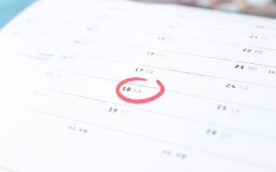 Congés payés : jours ouvrables et samedis