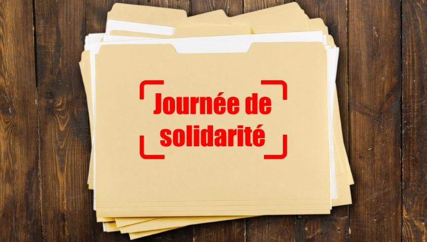 Cadre législatif de la journée de solidarité